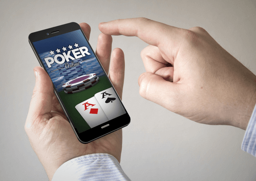 Best Android Casino Games - Photo of Person Holding Android Phone with Poker Image