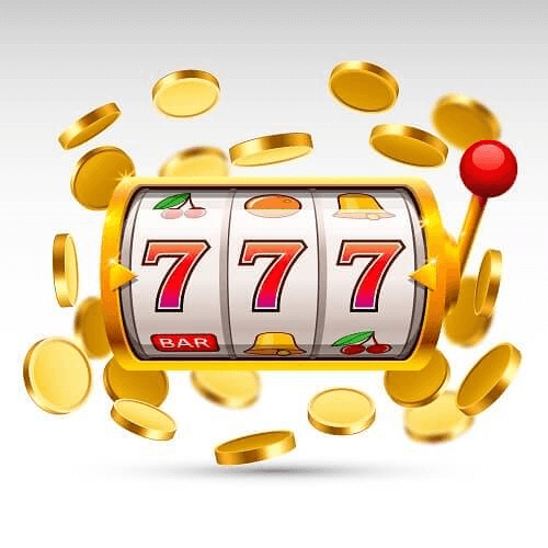 Casino Slot Machine Tips - Illustration of Three-Reel Slot with Coins