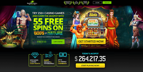 Raging Bull Casino Rating