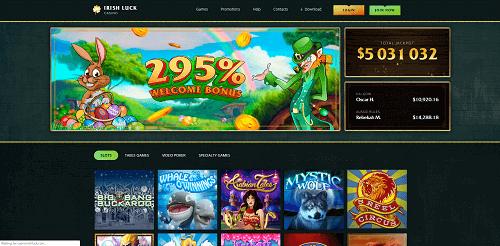 Irish Luck Casino Ratings