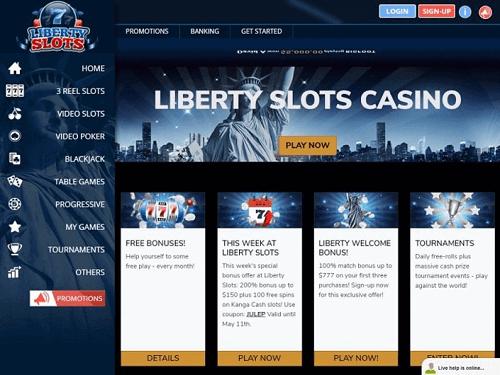 Liberty Slots Casino Rating