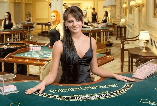 Jeux de Blackjack en direct