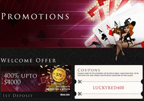 Lucky Red Casino Score
