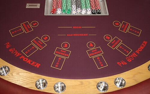 Table de poker Pai Gow