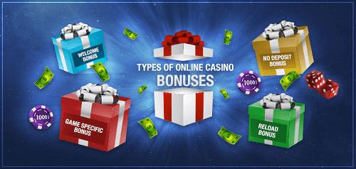 Types de bonus de casino populaires