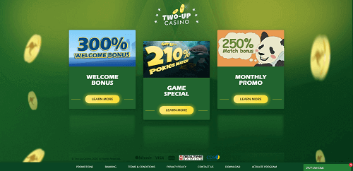 Two Up Casino Ratings
