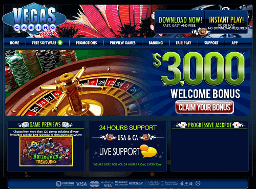 Vegas Casino Online Score