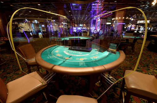 casino reopens