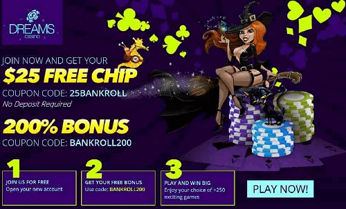 Dreams Casino Promotions
