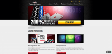 Palace of Chance Casino Promotions