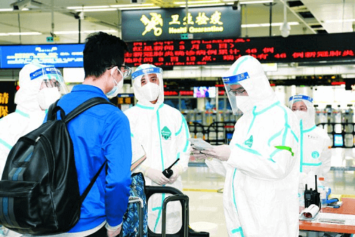 Burbuja de viaje para las viajeros chinas