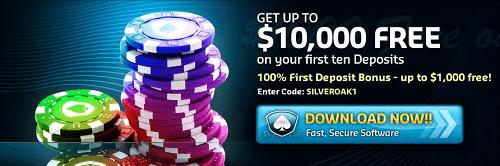 Silver Oak Casino Offer