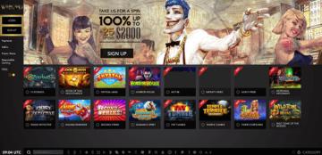 Wild Card City Casino Lobby