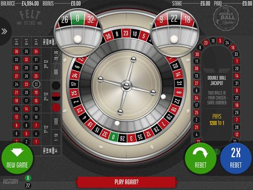 Wie man Double Ball Roulette spielt