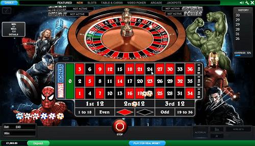 Spielen Sie progressives Roulette online