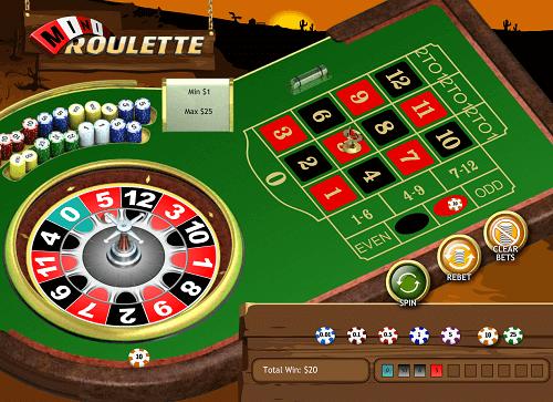 Comment jouer à la mini roulette