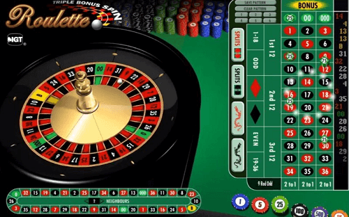 Table de roulette progressive
