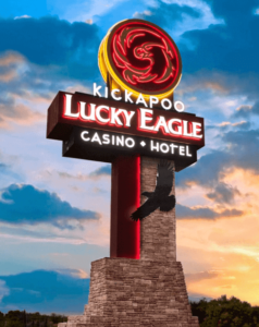Kickapoo Texas casinos logo