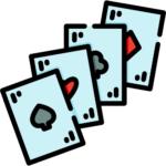 tarjetas de blackjack americano