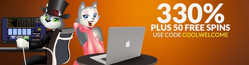Cool Cat Casino Bonus Offer