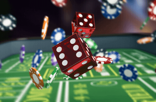 craps dice used for gambling superstions