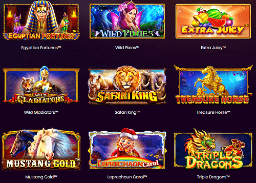 play blackout slots