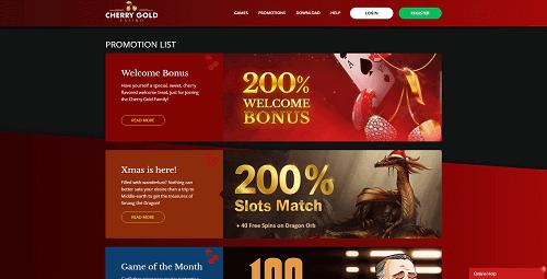 Cherry Gold Casino Reviews