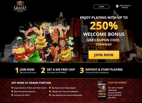 Grand Fortune Casino Bonus