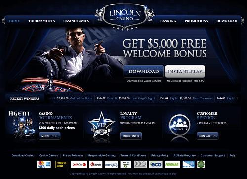 Lincoln Casino Score
