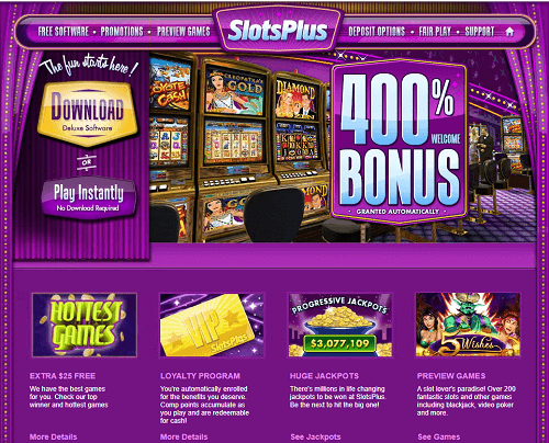 Slots Plus Casino Rating & Review