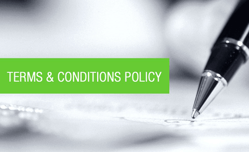 Terms and Conditions Policy
