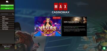 CasinoMax Game Lobby