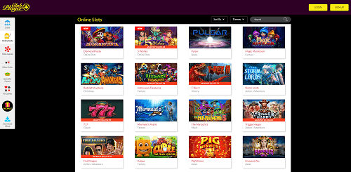 Club Player Casino Games