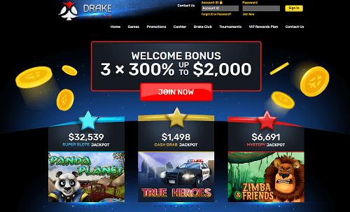 Drake Casino Lobby