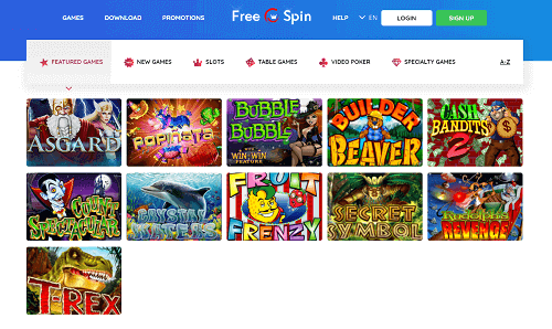 FreeSpin Casino Games