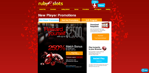Ruby Slots Casino Promotions