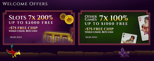 Aladdin's Gold Casino offers