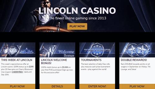 Lincoln Casino Offers