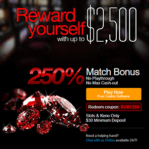 Ruby Slots Offer