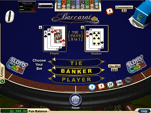 How to Play Chemin de Fer Baccarat