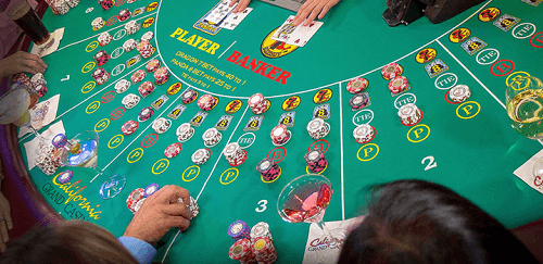 EZ Baccarat Game Objective